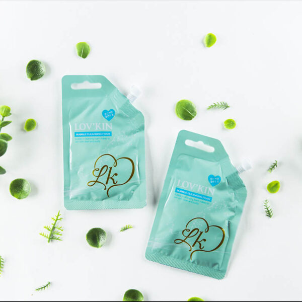 BUBBLE CLEANSING FOAM - Bag 03