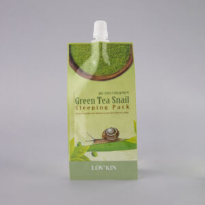 green tea snail mask